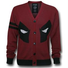 deadpool cardigan (only problem, his eyes would be on my boobs)