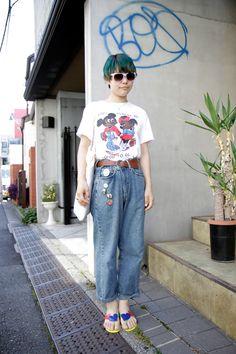 【STREET SNAP】モカコーラ | ストリートスナップ | 原宿(東京)|