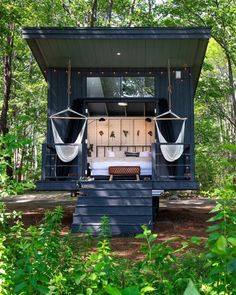 Tiny House Blog, Tiny House Cabin, Tiny House Design, Cabana, Glamping, Tent Camping, Campsite, Outdoor Fire, Outdoor Decor