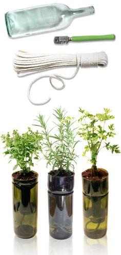 Earth box for herbs!
