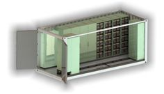 High-power energy storage system manufactured by Freqcon in Germany