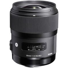 Sigma 35mm f/1.4 DG HSM Art Lens - A great fast prime lens for any purpose, especially dark interiors.  The Sigma Art line of lenses are an excellent third-party option, the same or better quality and usually at half the cost of Canon or Nikon lenses. -Eric