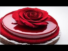 How to Make a Buttercream Rose - YouTube