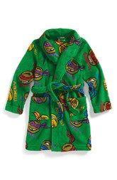 Nickelodeon 'Teenage Mutant Ninja Turtles' Robe (Toddler Boys & Little Boys)