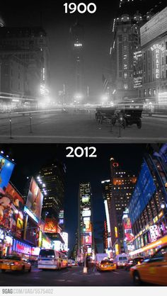 Times (Square) Change