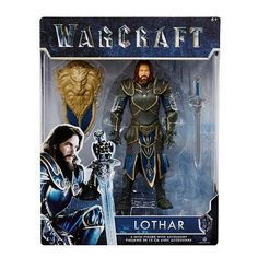 Warcraft 6 Lothar action Figure With Accessory >>> Discover more about the great product at the picture link. (This is an affiliate link). Warcraft Movie, World Of Warcraft, Lothar Warcraft, Medieval World, Boxes For Sale, Custom Action Figures, Picture Link, Sci Fi Fantasy, Gi Joe