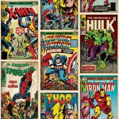 Graham & Brown Papier-Tapete Marvel Action Heroes Kollektion Kids Home IV, mehrfarbig, 70-238