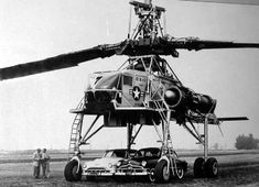 "The XH-17 ""Flying Crane"" was the first helicopter project for the helicopter division of Hughes Aircraft. The XH-17, which had a two-bladed main rotor system with a diameter of 134 feet (41 m), was capable of flying at a gross weight of more than 50,000 pounds (23,000 kg)."