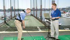 Golf Biomechanics with golf Instruction