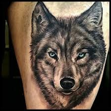 Image result for wolf tattoo
