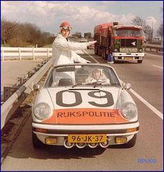 Fiat Panda, Porsche 930, Holland, Volvo Trucks, Emergency Vehicles, Automotive Art, Retro Cars, Police Cars, Old Photos