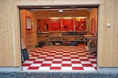 Tiles, Garage, Flooring, Home Decor, Create, Room Tiles, Carport Garage, Decoration Home, Room Decor