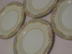 Noritake Dessert Plates Circa 1933