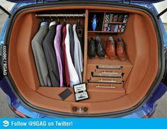Barney Stinson's trunk