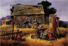 vintage harley davidson poster art - Google Search