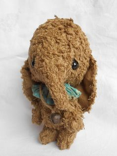 Artist bear OOAK elephant   by Sylvie Touzard by viviedoudou, $155.00