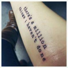 Hamilton tattoo