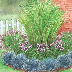 Sun Perennials: Beginner's Endless Bloom Perennial Garden - gardenplants Landscaping Plants, Front Yard Landscaping, Corner Landscaping Ideas, Landscaping Jobs, Luxury Landscaping, Landscaping Company, Backyard Ideas, Arizona Landscaping, Inexpensive Landscaping
