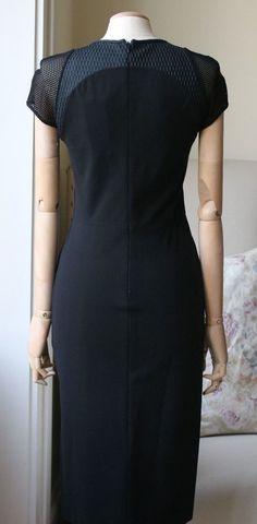 STELLA MCCARTNEY LACE PANEL DRESS IT 40 UK 8 | eBay
