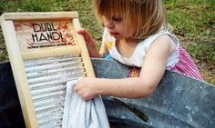 She is washing my musical washboard. Thanks !!!
