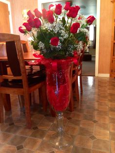 My Valentines Day  flowers from my hubby...