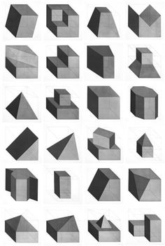 Sol LeWitt - Forms Derived from a Cube