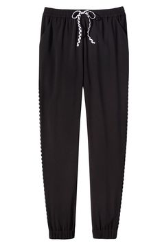 Adam Lippes for Target Woven Jogger Pant - Black $14.99