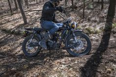 The Janus Gryffin 250 is a new scrambler motorcycle with classic style and rugged durability for off-road adventures and dual-sport riding. The Gryffin 250 is designed and built in America's heartland, made one-at-a-time in limited batches by a small team.