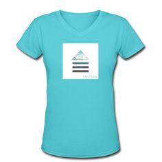 LEVITATE | V-Neck : Women - Women's V-Neck T-Shirt