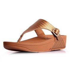 cc6ea392a2c4 Fitflop THE SKINNY Bronze Cheap Sandals