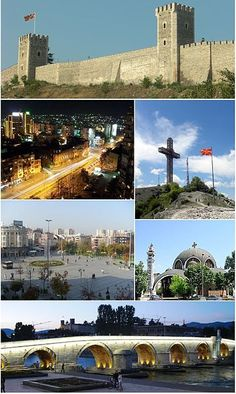 Skopje, Macedonia - LOVED visiting my sister here; a great city with great people and great food! :D