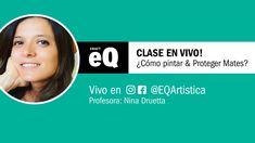 Clase en Vivo EQ - Cómo pintar y proteger Mates con Nina Druetta Youtube, Instagram, Decoupage, I Will Protect You, Professor, Cold Porcelain, Live, Bricolage, Youtubers