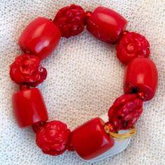 armband_01_022 Napkin Rings, Decor, Semi Precious Beads, Handmade, Wristlets, Schmuck, Gifts, Decoration, Decorating