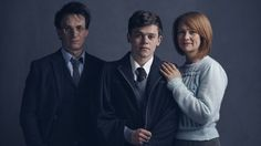 Jamie Parker, Sam Clemmett and Poppy Miller