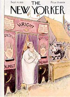 Helen E. Hokinson : Cover art for The New Yorker,September 14, 1933