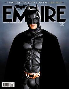 The Dark Knight Rises in the cover of Empire magazine