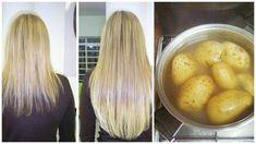 Genialny trik na szybki porost włosów – SOK Z ZIEMNIAKA Pelo Natural, Hair Remedies, Slow Food, Tips Belleza, Hair Hacks, Healthy Hair, My Hair, Life Hacks, Beauty Hacks