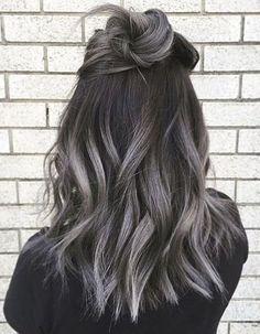 Ombré hair gris - Ombré hair : les plus beaux dégradés de couleur - Elle