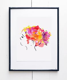 Preserve a precious memory of yourself or a loved one with a Custom Botanical Tresses Portrait by Susan McCanless.  This is a 100% custom piece of