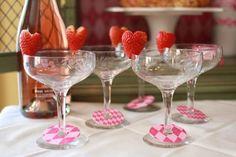 copas con fresas