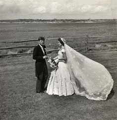On September 12, 1953, U.S. Senator John F. Kennedy marries Jacqueline Lee Bouvier.