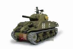 116 US Sherman Tank Howitzer Air Soft RC Battle Tank Smoke Sound Upgrade Version w Metal Gear Tracks * You can get additional details at the image link. Rc Tank, Sherman Tank, Thing 1, Rc Crawler, Battle Tank, Metal Gear, Military Vehicles, Rc Vehicles, Radio Control