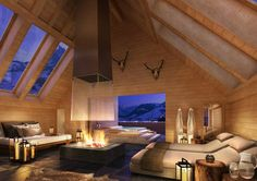 The Alpina Gstaad Hotel houses a Six Senses Spa which offers a luxurious sanctuary for the hotel guests, residents and locals with its world-renowned treatments, specialist practitioners and peaceful ambience.
