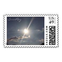 SunRay Postage Stamp