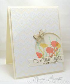 Beautiful card. Maureen Merritt