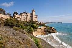 Tamarit Castle, Costa Dorada. http://www.costadoradatransfers.com/