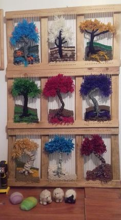 Home Decor ideas &Home Garden & Diy Tapestry Weaving, Loom Weaving, Cheap Christmas Holidays, Knitting Room, Types Of Weaving, Diy And Crafts, Arts And Crafts, Diy Home Decor Projects, Craft Projects