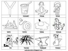 Vocabulario con imgenes para nios  Spanish Pre kinder and