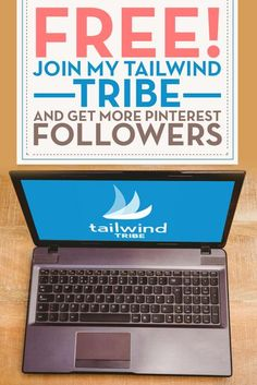 Tailwind is an auto-scheduler for your blog posts and tribes on tailwind allow you to work together with others for a common goal. Join my tribe. Re-pin your favorite pins and leave some for others to share. Everyone shares and everyone wins! Join my
