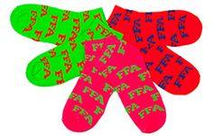 Neon Sock Set -- National FFA Organization Online Store Ffa, Colorful Socks, I Feel Pretty, Neon, Organization, Store, Girls, Getting Organized, Toddler Girls